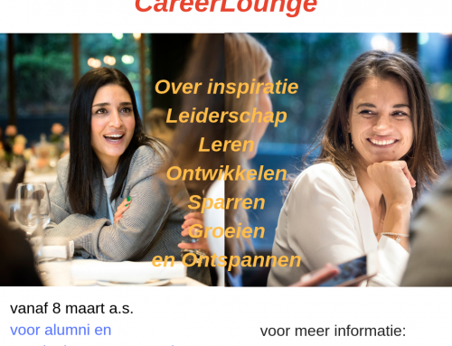 Wat een mooie dag om te starten met de CareerLounge: Happy International Women's day!