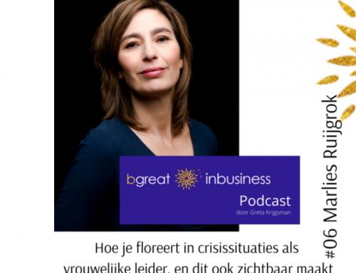 Ik in een podcast over vrouwelijk leiderschap – slik!